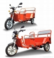 China made electric tricycle for taxi