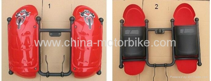Leg Protector on Motorcycles