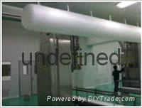 Industrial and mining industry special lightweight duct