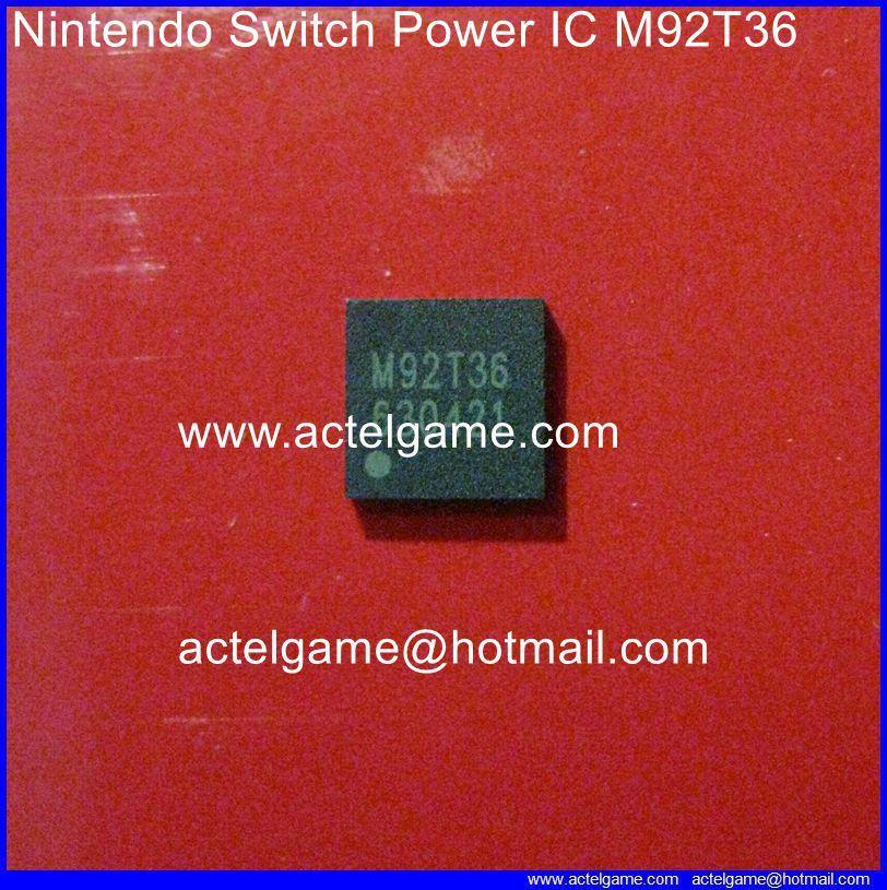 Nintendo Switch Power IC M92T36 PI3USB30532ZLE BQ24193 repair parts -