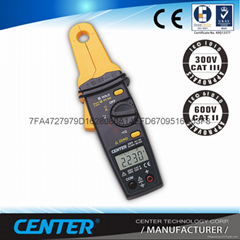 CENTER 223-1mA Clamp Meter (AC/DC)
