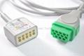 Macquette 3 & 5-lead  ECG cable & Lead Wire