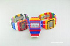 Jc/DC Pop Hours Lego Digital Watch