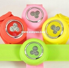 Slap on Watches for Mickey Mouse,Papa Watch Bracelet,Silione Quartz Watches
