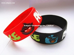 New Arrivals Angry Birds Silicone Bracelets Kids Love Bnads