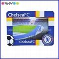 Custom Football Club PVC Rubber 3D Photo