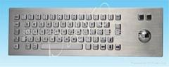 防水防爆金属一体键盘