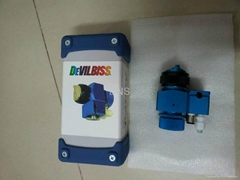 Devilbiss T-AGPV blue spray gun