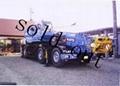 加藤70噸高速越野輪胎起重機