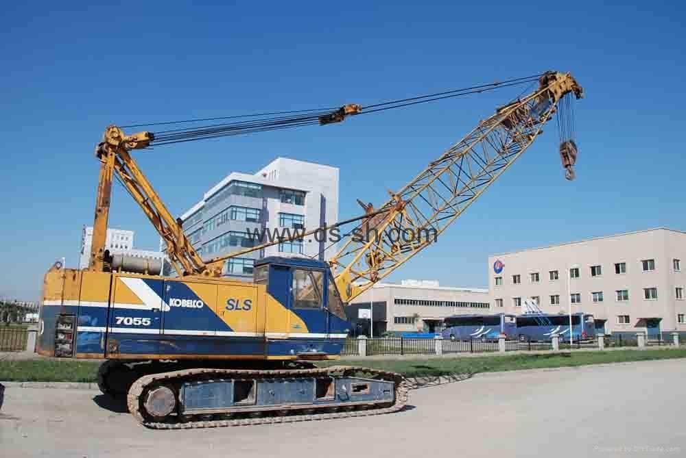 神钢55吨履带起重机 2