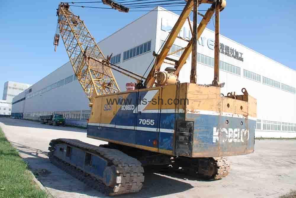 神钢55吨履带起重机 3