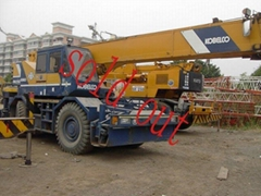 sale used  KOBELCO RK250-2 Rough-Terrain Crane