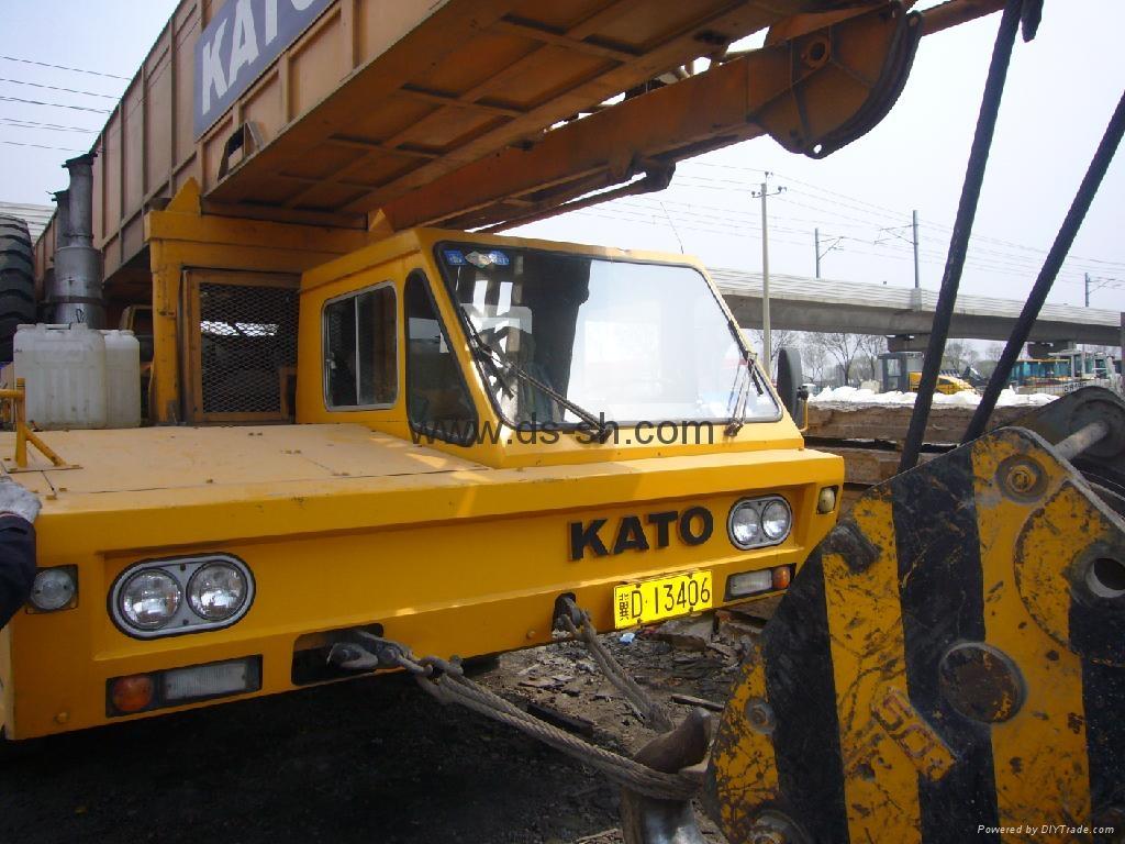 加藤120吨汽车起重机 2