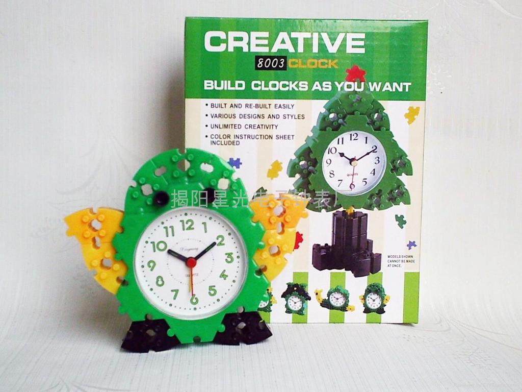 DIY益智玩具鬧鐘 2