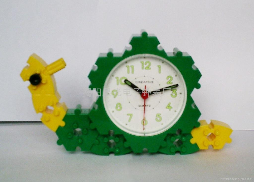DIY益智玩具鬧鐘 3