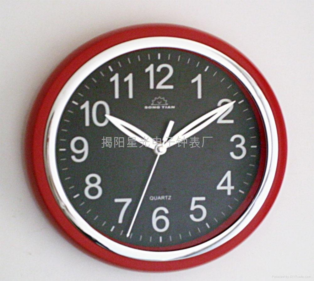 Wall clock with noctilucent kd 2804 china manufacturer wall clock with noctilucent 1 wall clock with noctilucent 2 amipublicfo Image collections