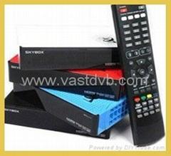 Newest original Skybox F3 Satellite receiver Dual-Core CPU 1080P Full HD DVB-S2