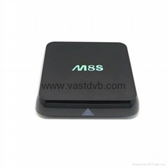 M8S Amlogic S812 Quad Core Android TV Box XBMC Kodi 14.2 Android 4.4.2 2G/8G 2.4