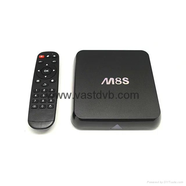 M8S Amlogic S812 Quad Core Android TV Box XBMC Kodi 14.2 Android 4.4.2 2G/8G 2.4 5