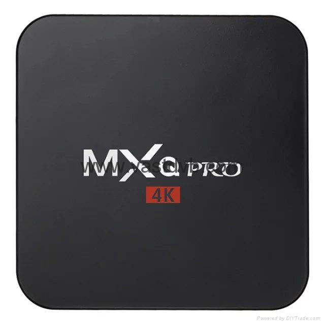 MXQ PRO Amlogic S905 64bits Android 5.1 TV Box Quad Core 2K& 4K HDMI 2.0 Smart T 1