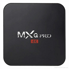 MXQ PRO Amlogic S905 64bits Android 5.1 TV Box Quad Core 2K& 4K HDMI 2.0 Smart T