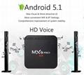 MXQ PRO Amlogic S905 64bits Android 5.1 TV Box Quad Core 2K& 4K HDMI 2.0 Smart T 2