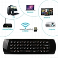 Rii mini i25 2.4GHz Wireless Game Keyboard Fly Air Mouse Ergonomic Remote Contro