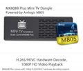 Original MK808B Plus Amlogic M805 Quad Core Android TV Box 1G/8G WIFI H.265 Hard 2