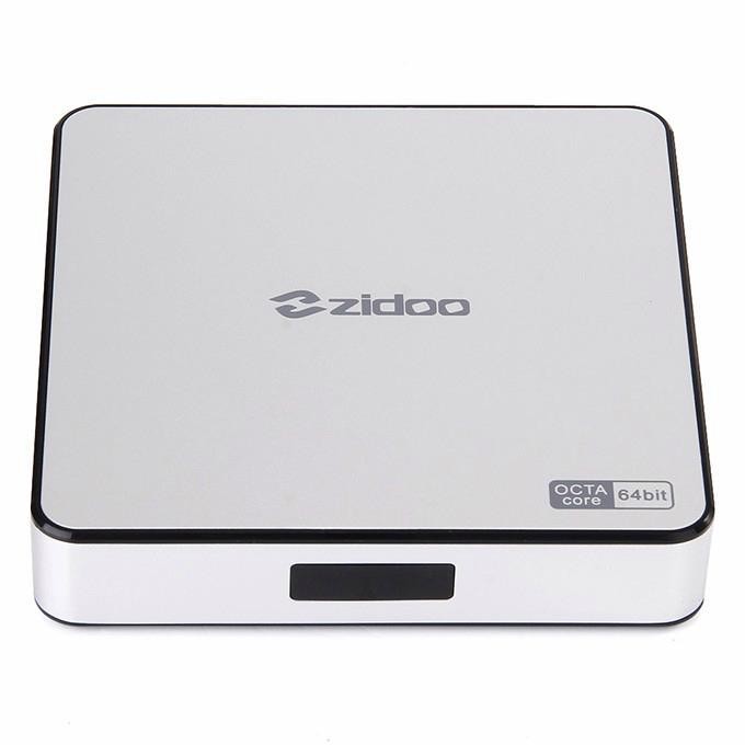 ZIDOO X6 Pro Android TV Box RK3368 Quad Core 1.5GHz 2G/16G 802.11AC Bluetooth 3D 1
