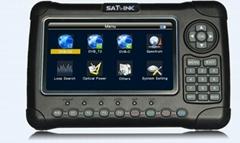 Original SATLINK WS-6980 DVB-S2+DVB-C+DVB-T2 COMBO Optical power detection Spect