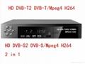 Digital Satellite Receiver Combo dvb t2 + S2 HD 1080P dvb-t2 tv Box H.264 / MPEG