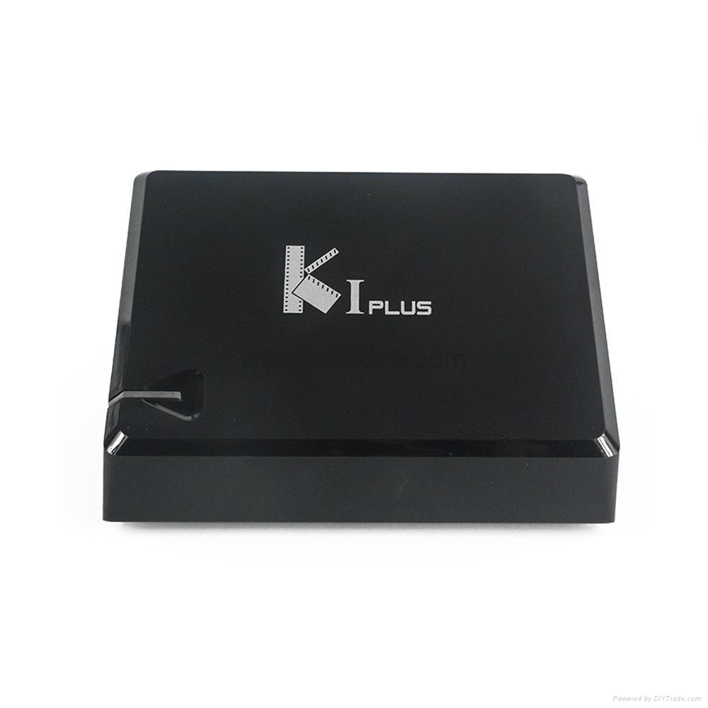 K1 Plus DVB-T2/DVB-S2 integrates the Android 5.1 TV Box and DVB-T2 Terrestrial R 1