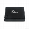 K1 Plus DVB-T2/DVB-S2 integrates the Android 5.1 TV Box and DVB-T2 Terrestrial R