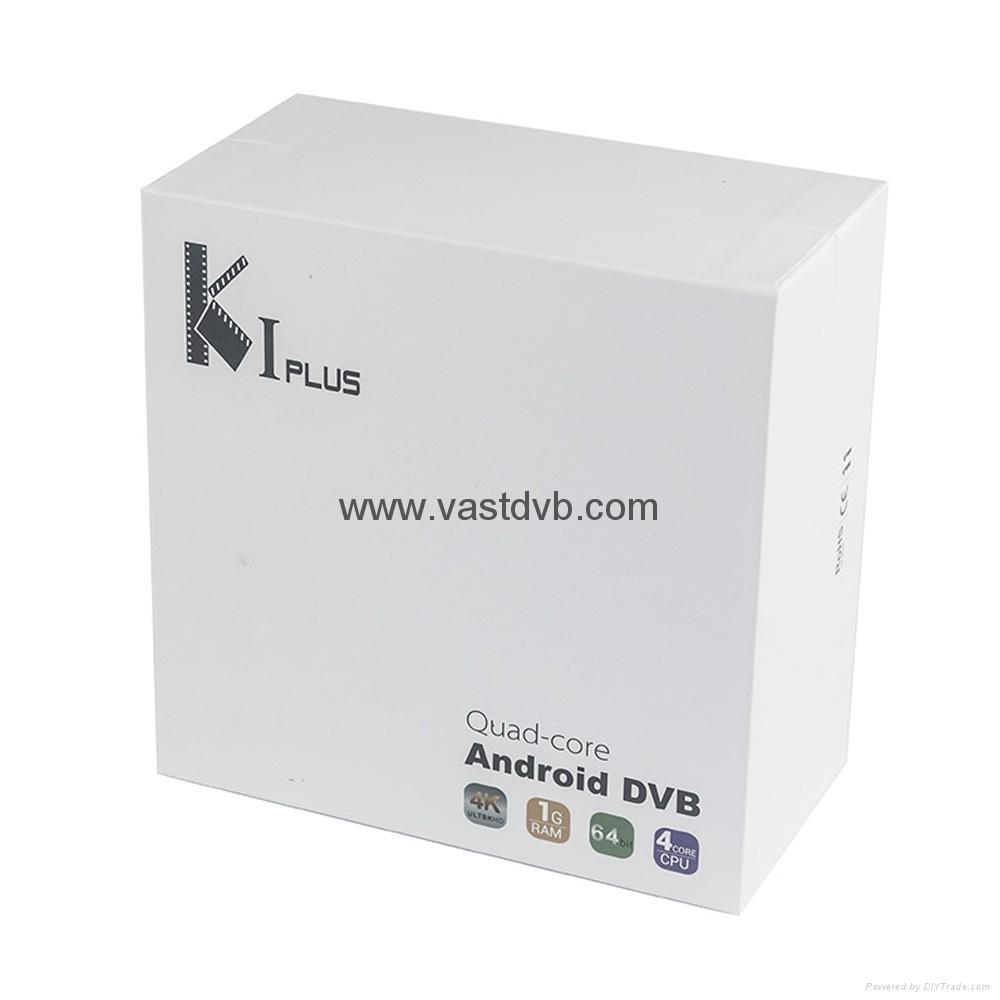 K1 Plus DVB-T2/DVB-S2 integrates the Android 5.1 TV Box and DVB-T2 Terrestrial R 4