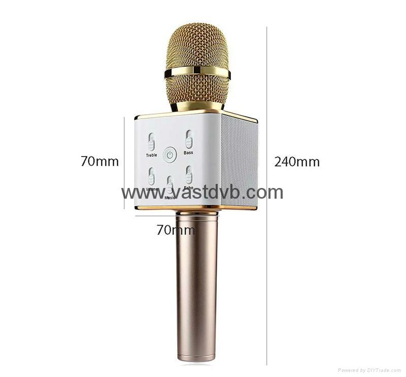 Wireless Microphone Pocket Party KTV Sing karaoke OK Wireless Bluetooth Q7 Micro 1