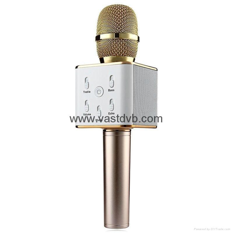 Wireless Microphone Pocket Party KTV Sing karaoke OK Wireless Bluetooth Q7 Micro 2