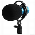 BM - 800 Dynamic Condenser Wired Microphone Mic Sound Studio for Recording Kit  5