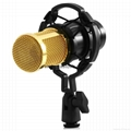 BM - 800 Dynamic Condenser Wired Microphone Mic Sound Studio for Recording Kit