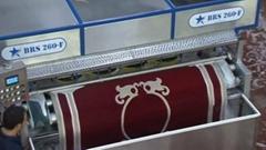 FULL AUTOMATIC CARPET WASHING MACHINE