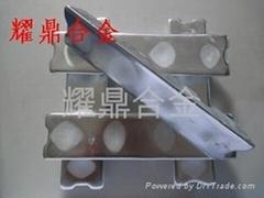 環保鋅合金 光面鋅合金 韌性鋅合金