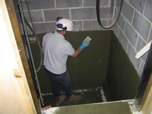 英泥质防水涂层 2