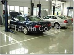 停车场地台油
