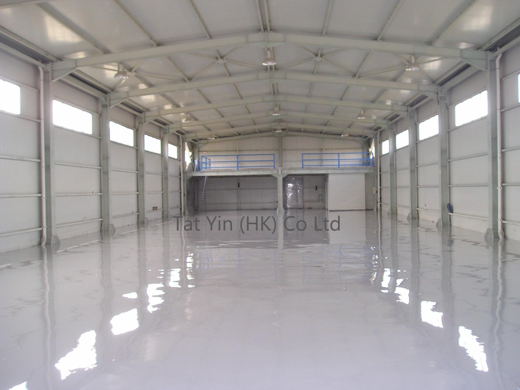 High Build Epoxy Resin Floor Coating 1