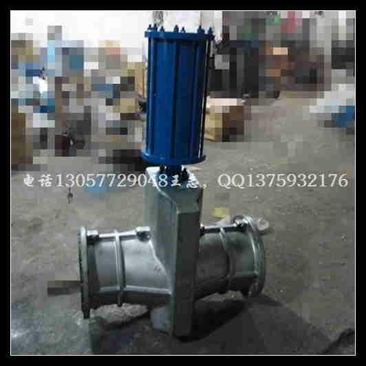 气动管夹阀 GJ641X-10L 1