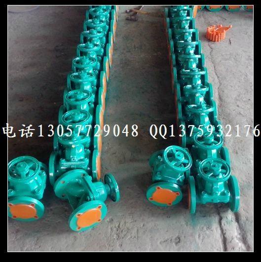 衬胶隔膜阀 G41J-10 G41F46 2
