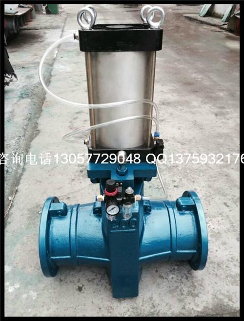 G41X-10L 铝管夹阀 3