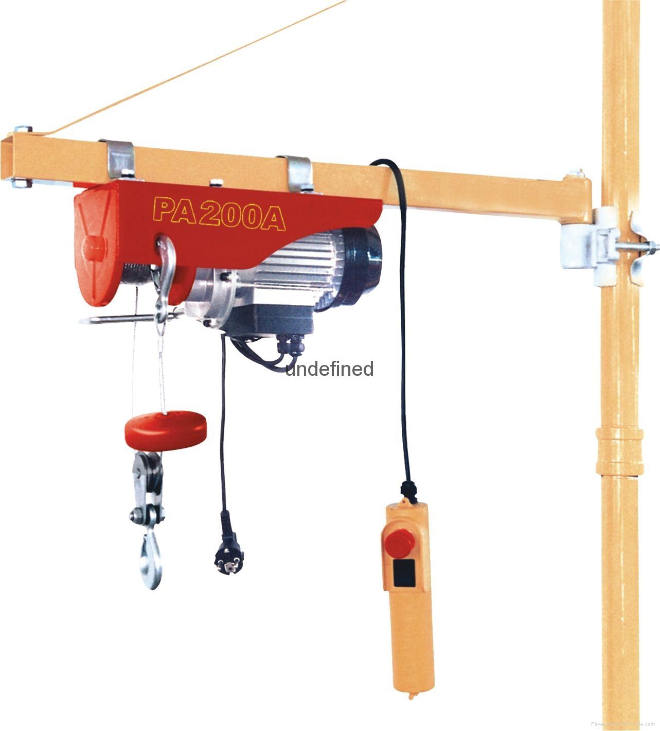 Electric Hoist 4