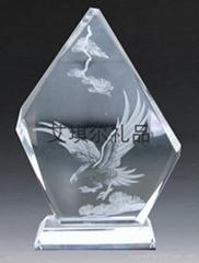 深圳水晶獎杯 水晶獎杯批發