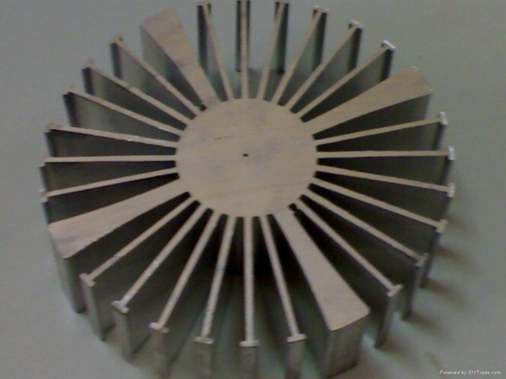 太阳花散热器 1