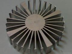 太陽花散熱器